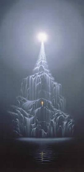 "© 1997 Maurice Bishop. ""Towards The Light"""