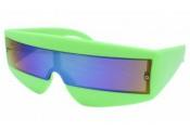Freddie Mercury Style Retro Green Sunglasses